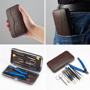 Original Vapswarm V3 Tool Kit Set für Vape DIY RDA RBA Bauspule Jig Inbus Schraubendreher Schere Zange Pinzette Pinsel Tragetasche DHL