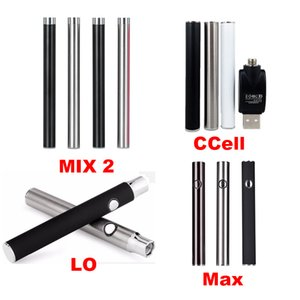 Amigo Max Mix 2 LO Ecig Cell Battery 510 Thread Battery Preheating Vape Battery Vape Pens CO2 Oil Cartridge
