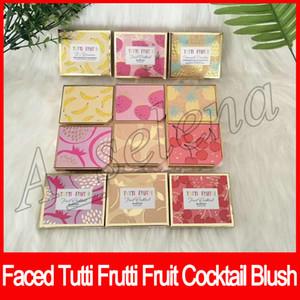 2020 Makeup Faced Tutti Frutti Cocktail di frutta Blush Duo effetto stroboscopico Bronzer evidenziazione Duo crema di banana impostazione polvere 6 colori trasporto libero
