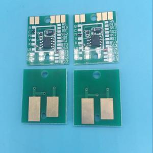 Eco solvente plotter Mimaki chip permanente JV33 JV5 CJV30 HV34 TS3 cartucho de tinta chip C M Y K SS21 auto reset chips