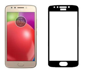 Tam Kapak Temperli Cam Ekran Koruyucu için LG Stylo 4 Aristo Motorola MOTO E4 E4 artı E5 E5 artı Oppbag ile oynamak