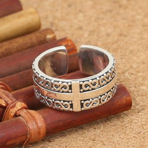 Brand new 925 sterling silver fashion jewelry vintage style band ring for men and women American & Europe trendy gift free shipping