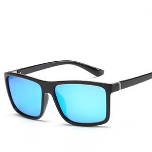 HD Polarize Erkekler Güneş marka Retro Kare Güneş Gözlükleri Aksesuar Unisex gözlük sürüş