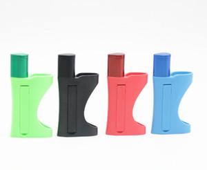미니 플라스틱 흡연 파이프 금속 그릇 이동식 라이터 쉘 홀더 건조 허브 압축기 크림 칩을위한 휴대용 파이프 도구