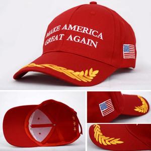 Amerika Büyük Tekrar Mektubu Şapka Donald Trump Cumhuriyet Snapback Spor Şapkalar Beyzbol Kapaklar ABD Bayrağı Mens Womens Moda Kap R021