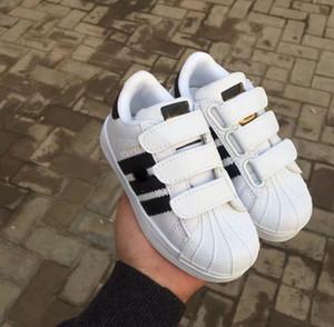 2018 NOUVEAU STAN SMITH SNEAKERS CASUAL LEATHER Chaussures enfant JOGGING SHOES CHAUSSURES CLASSIC FLATS Enfant Sneakers