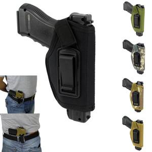 Caça Tactical Gear Oculto Belt Holster IWB Estojo para acessórios Todos Compact Subcompact Pistols externas W / Clip