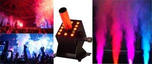 110V / 220V DJ 장비 LED 이산화탄소 제트 기계 나이트 클럽 결혼식 파티 12 x 3W RGB 3in1 CO2 제트 기계 연기 기계
