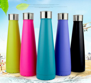 New Cola Sports Kettle Stainless Steel Coke Waters Bottle Vacuum Insulation Cup Bowling Shaped Mugs Water Bottles