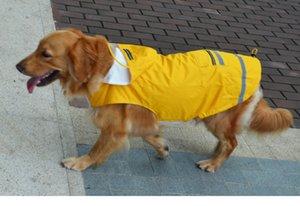 Pet Regenmäntel New Pet Rainning Wear Big Dog wasserdicht und winddicht Reflektor Dog Apparel Günstige Großhandel