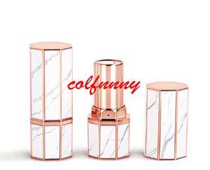 100 teile / los 12,1mm Leere Lippenstift Tube Selbstgemachte DIY Lip Balm Gloss Tubes Mehrwegflaschen Lip Rouge Compact Container Lippenstift