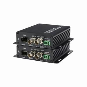 3G / HD-SDI sobre Fibre Transceiver, SDI-Optic-SDI Media Converter, HD SDI Transmission System, HD-SDI sobre Fibre Extender Kit con RS485