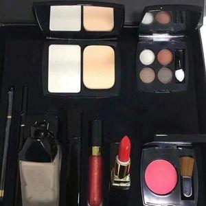 Dropshipping Hohe Qualität Neue Kosmetik Concealer Augenbrauenstift Erröten Lippenstift Eyeliner Bleistift Hohe Qualität Make-Up Kit Große Box Set