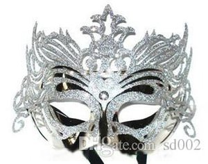 Masquerade Mask Halloween Christmas Venetian Dance Party Maschere Easy Carry Pratico Una varietà di colori Novel 1 3mj cc