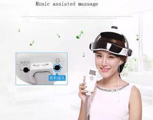 Electric Head Massager Brain Scalp Massage Acupuncture Points Relax Massage for Head Massageador JR-268C With Retail Box 0602033