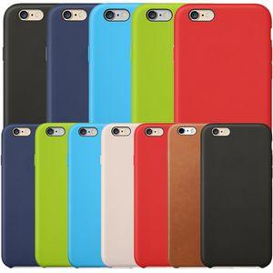 Funda oficial original para Apple iPhone 11 Pro Max XS XR X 8 7 6 6S Plus 5 5S Funda con logotipo OEM Volver Funda de cuero PU para teléfono Mate mate