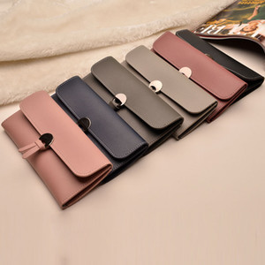 Vintage quality PU Leather Long Fashion Women Wallets Designer Brand Clutch Purse Lady Party Wallet Female Card Holder Money Clip
