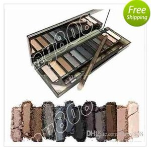 Factory Direct Free Shipping New Makeup Eyes Nude Smoky Palette 12 Color Eye Shadow!12X1.3g
