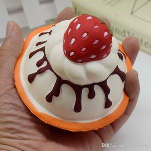 Squishy Simulation PU Kuchen Squishy Slow Rebound Dekompression Spielzeug Squishies Strawberry Ice Cream Cup Modell Kinderspielzeug