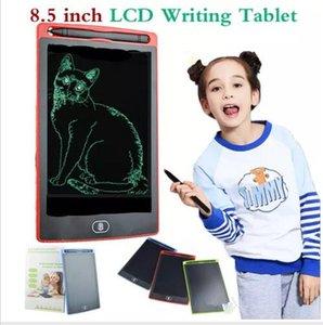 5colors 8.5 인치 LCD 태블릿 디지털 휴대용 메모장 그리기 칠판 필기 패드 업그레이드 된 펜으로 전자 태블릿 보드