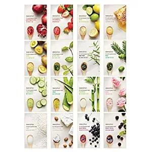INNISFREE It's Real Squeeze Mask Whitening Moisturizing Facial Mask Peels Skin Care Pilate Korea Brand Free Shipping