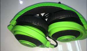 Hochwertiges 3,5-mm-Gaming-Headset von Razer Kraken Pro mit drahtgesteuerten Kopfhörern in BOX für das IOS-Android-System, das am beliebtesten ist