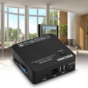 Escam K108 Mini NVR Onvif 8 canales HD 1080p / 960p / 720p Grabador de video en red portátil
