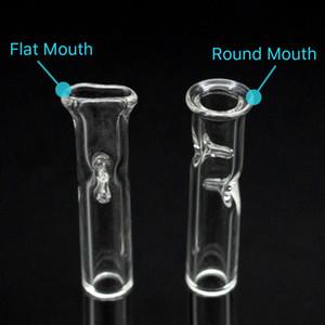 Glas Ölbrenner Rohr Günstige Glaspfeife Zigarette Filter Bat One Hitter Rohr mit Klarglas Strohrohr Filter Tipps Bong Dab Rig