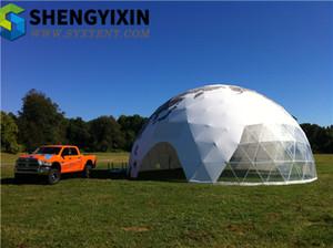 뜨거운 판매 중국 상업 프로모션 무역 전시회 텐트 명확한 스팬 경제 자동차 쇼 전시회 풍선 의료 돔 텐트 광고