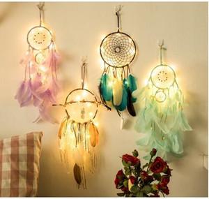 Fairy Lights led para celular Indian Dream Catcher Net Dormitorio decoración de la pared regalos de Navidad novedad regalos para niños mujeres