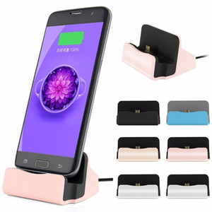 Universal Micro Dock Charging stand Cradle Charging Station for samsung galaxy s4 s6 s7 s8 htc android phone