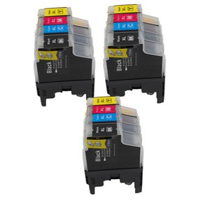 12x Ink Cartridge LC400 LC1280 LC1240 Compatible For Brother MFC-J960DWN-B MFC-J960DWNW DCP-J725DW DCP-J925DW DCP-J940N-B DCP-540N DCP-J740N