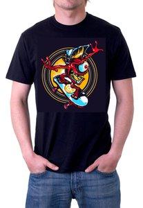 Caliskate Kalifornien Skater Skate Boarder Board Herren T-Shirt schwarz T-Shirt