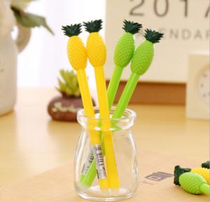 Лучшие продажи гелевая ручка оптом 120 шт. \ LotKorean канцелярские мультфильм конфеты цвет зонтик нейтральная ручка ананас стиль нейтральная ручка 069