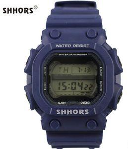 Shhors personality fashion multi-functional men and women student sports electronic watch