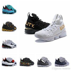 2018 YENI tasarımcı ayakkabı 15 Erkekler için 15 15 Basketbol Ayakkabıları Eşitlik BHM Graffiti Erkek Spor ayakkabı MVP Eğitim Sneakers Külleri Boyutu 40-46