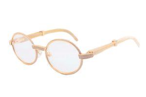Las ventas directas de nuevas gafas de sol de perforación completa, gafas de sol cuerno blanco natural 7550178 alta calidad, gafas de tamaño: 55 -22-140mm gafas de sol,