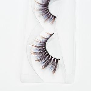 Seashine 100 % 손으로 만든 3D 실크 속눈썹 3D 화려한 실크 속눈썹 허위 속눈썹 멋진 색칠 속눈썹 무료 배송 C8