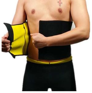 CHENYE compresión de los hombres del cuerpo Shaper Belt venta caliente Shapers cintura Trimmer cinturón de la cintura del entrenador delgados cinturones que adelgazan la cintura Shaper