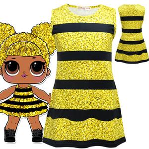 2018 Kids Surprise Summer Dresses Cute Children Lotus Leaf Princess Dresses Halloween Performance Clothes Children Cosplay Dresses