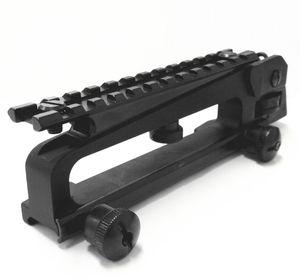 M4 M16 AR15 라이플을위한 후면 시력과 전문 전술 금속 분리형 운반 손잡이