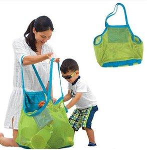 Дети песок от пляжа сетка мешок дети пляж игрушки одежда полотенце сумка детские игрушки сумки для хранения сумки Всякая всячина TO407