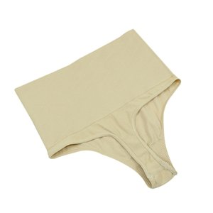 BONJEAN 여성용 하이 웨이스트 끈 팬티 바디 슈프림 팬티 슬리밍 팬츠 니커스 트리머 섹시 속옷 S / M / L / XL