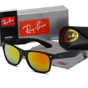 18 Style Brand Designer Sunglasses For Men Woman Luxury Fashion Sunglasses Personality Trend Reflective Coating Eyewear