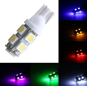 Otomatik Araç Led Işık 194 168 W5W T10 9SMD 5050 LED Otomobiller Kuyruk Dönüş Sinyali Side Marker Işık yayan Diyot lambası Ampul