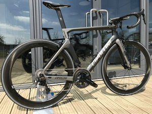 NK1K Carbon Road Complete Bike Sliver Cipollini nk1k Di2 Carbon Bike 50mm carbon Road wheelset 2018