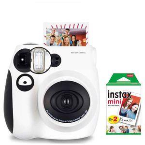 Instax Mini7S لحظة صور أفلام الكاميرا + 20 ورقة فيلم
