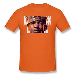 Camiseta camiseta camiseta Kendrick Lamar Rei design de mangas curtas T-shirt 100% algodão rodada colarinho camisetas Mens