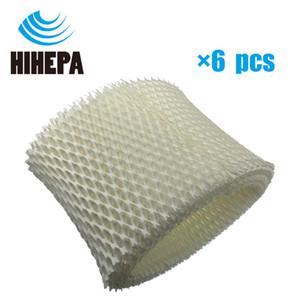 6-pcs Umidificador Wicking Filtros para Honeywell HCM-890/89020 / 890MTG HEV-320B / 320W DCM-200/890 Umidificador Peças HC-888 HC888N