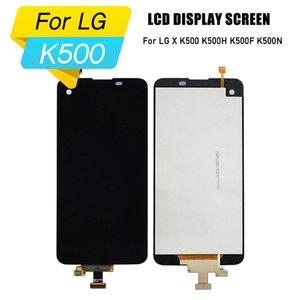 Tela lcd para lg x k500 k500h k500f k500n lcd display digitador assembléia para lg x touch screen frame